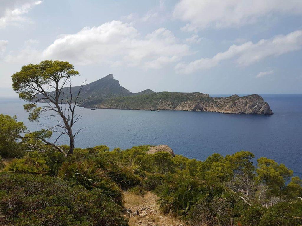 vista a Sa Dragonera, La Dragonera, Mallorca