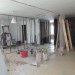 piso fabrica durante reforma