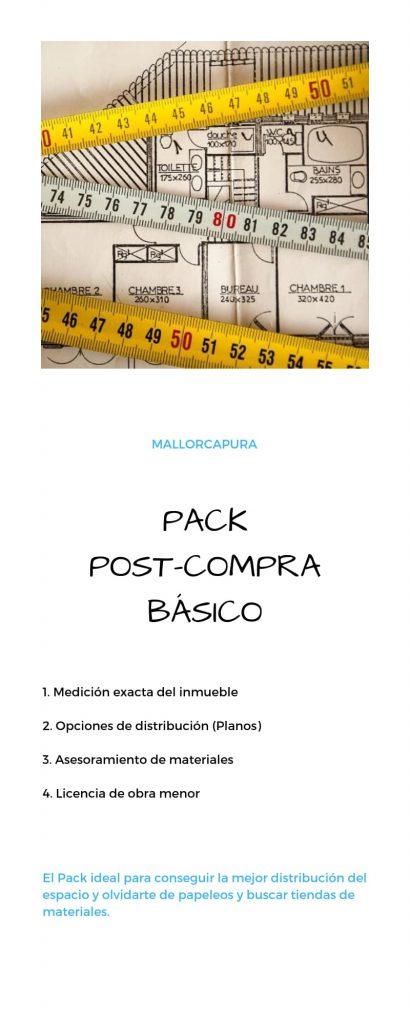 pack post-compra basico mallorcapura