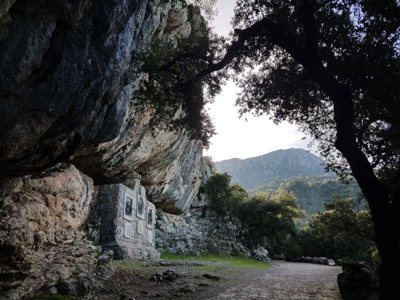 Paisaje santuario de Lluc