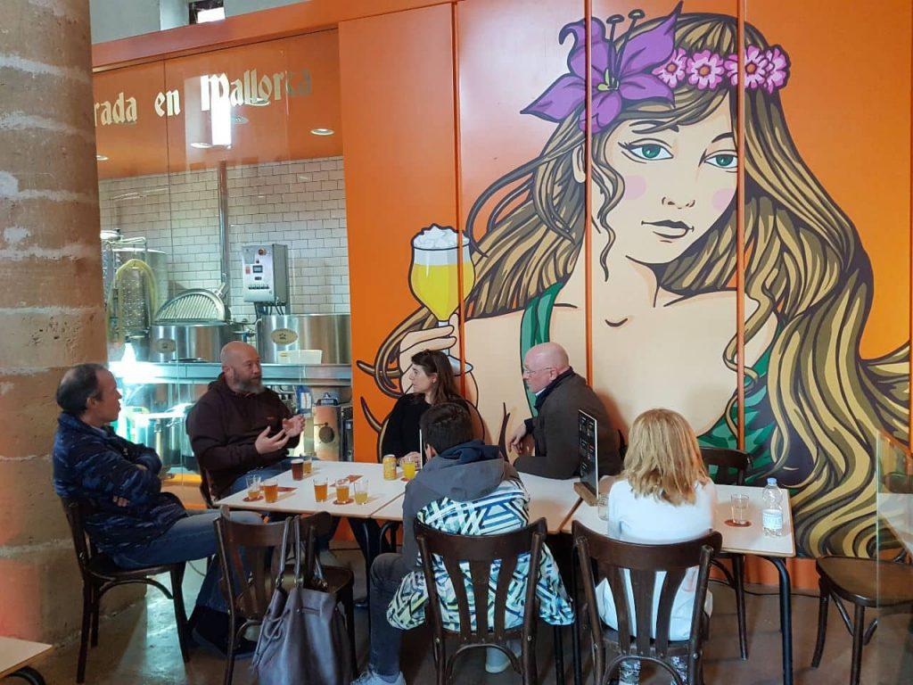 cata cerveza toutatis Sencelles Mallorca