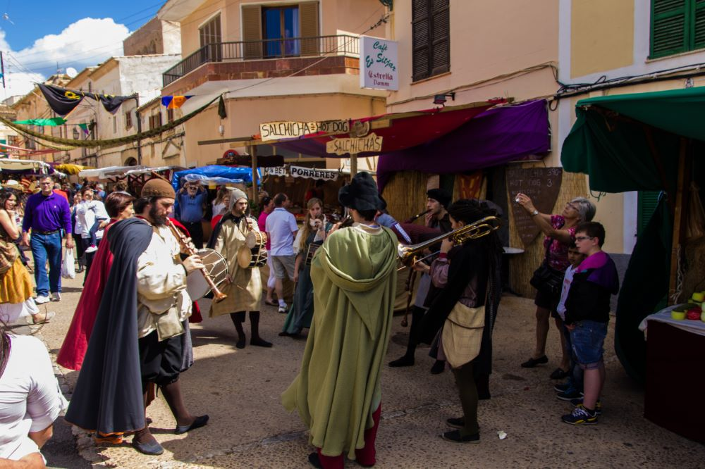 mercado medieval capdepera
