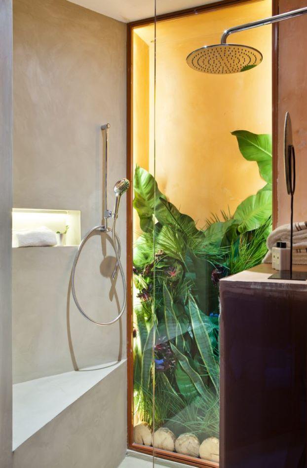 decoracion baño tropical casa decor