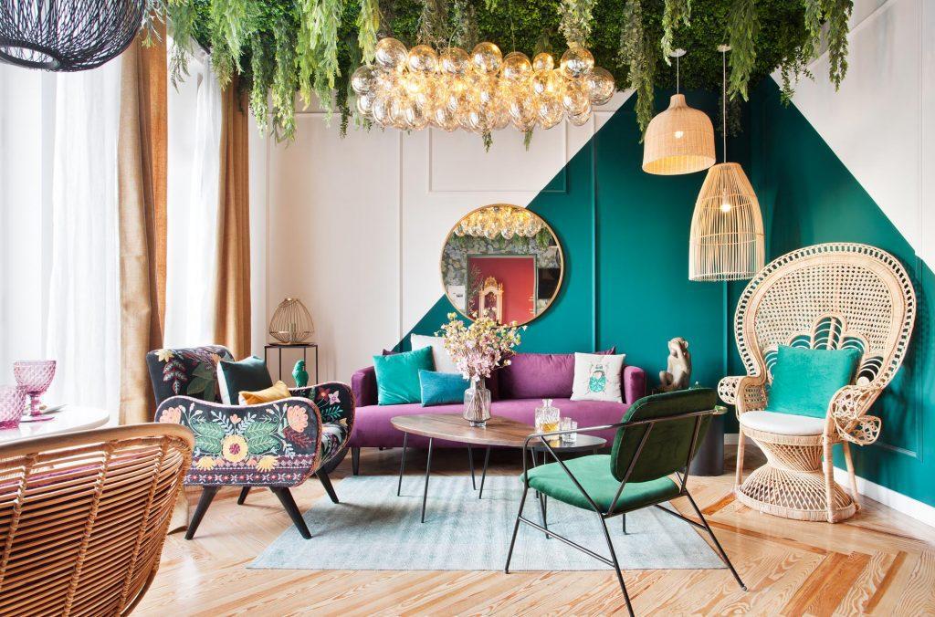palm grove mason dumon decoracion salon