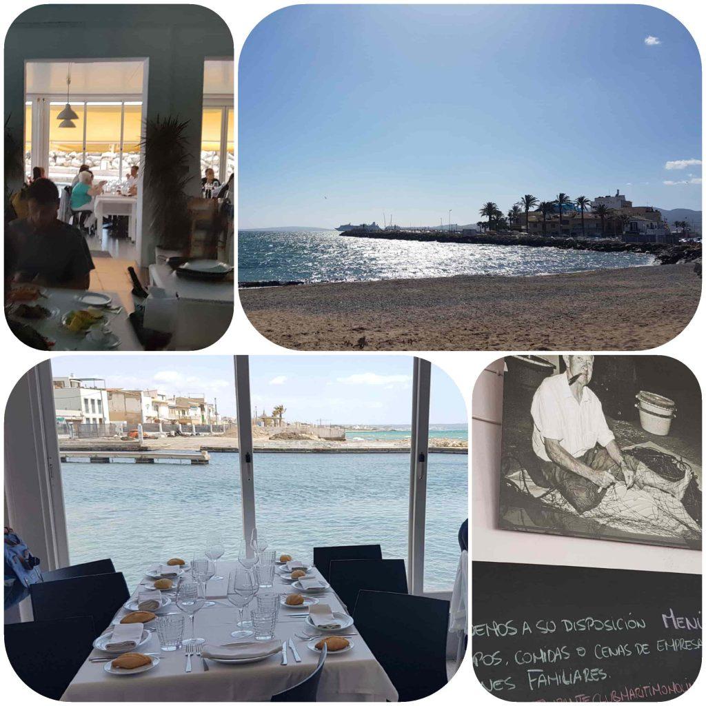 collage restaurante club maritimo molinar-