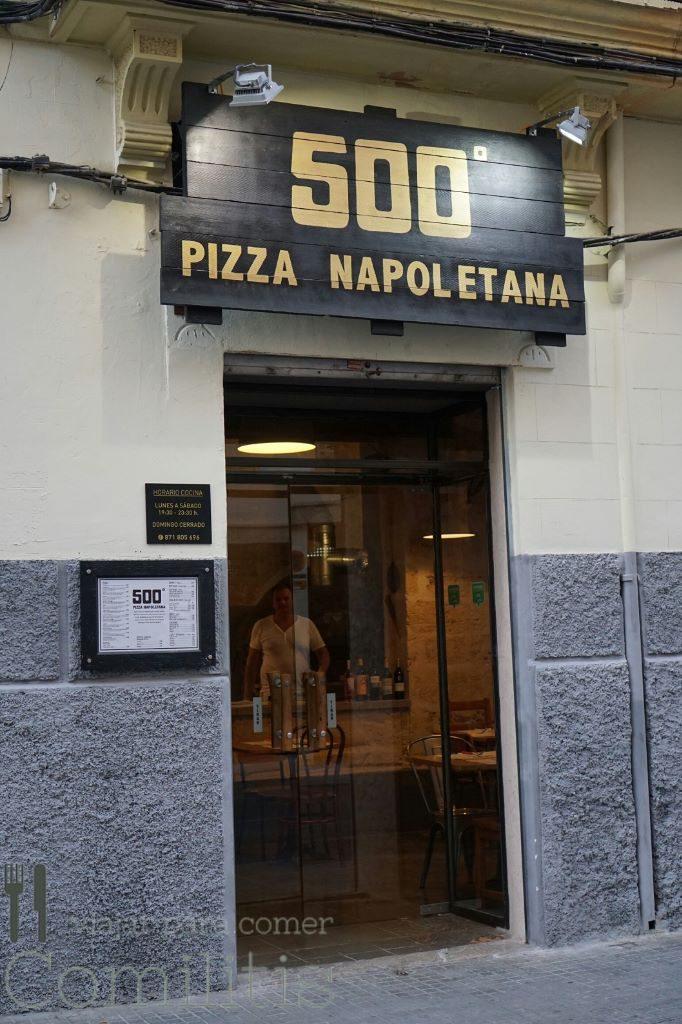 pizzeria 500 grados entrada
