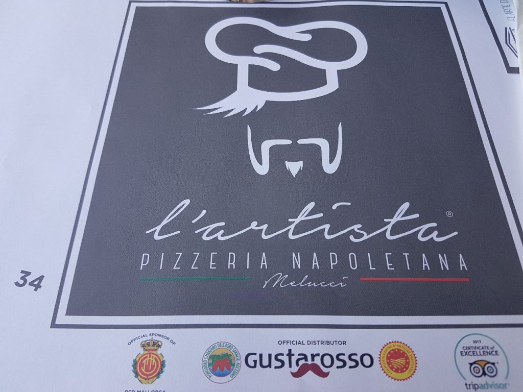 pizzeria l artista logo