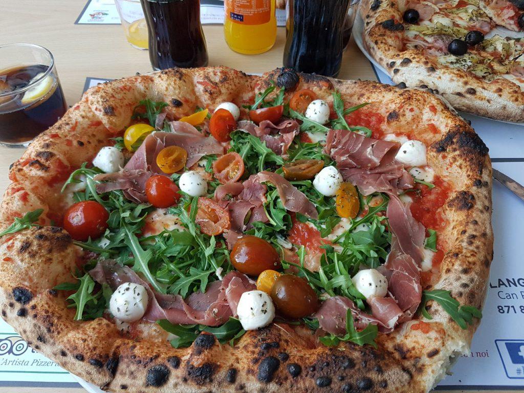 pizzeria l artista pizza
