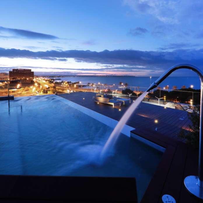 terraza skybar hotel es princep palma