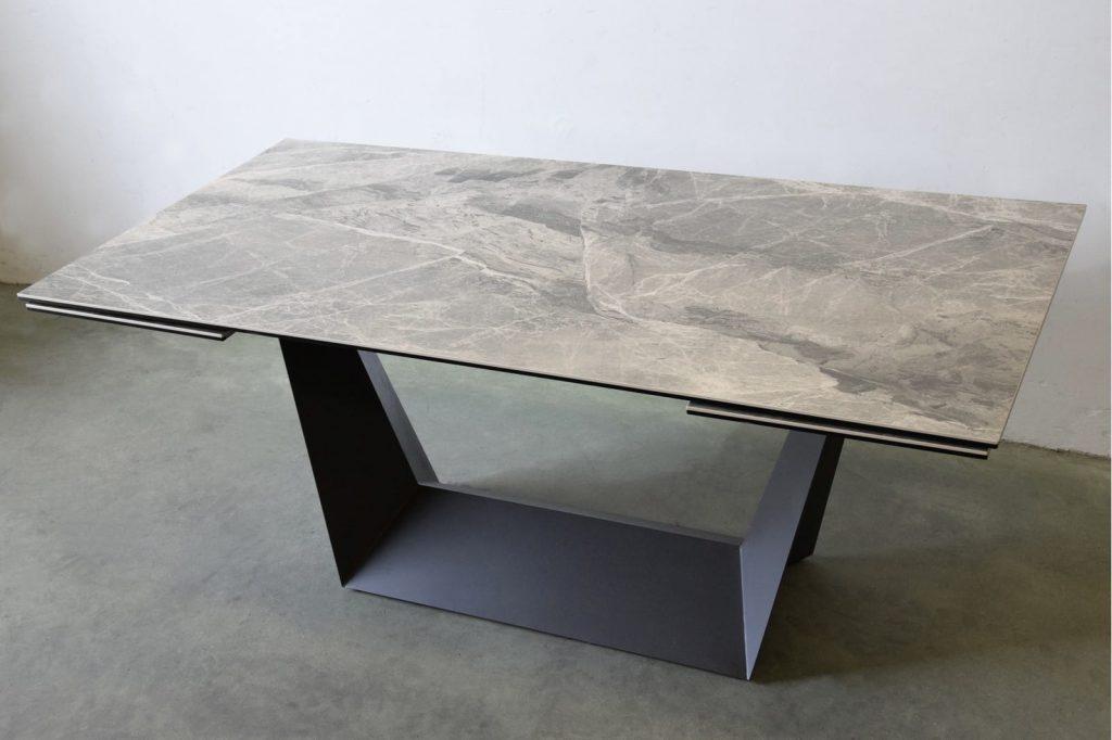 mesa-comedor-extensible-ceramico-metal vp interiores