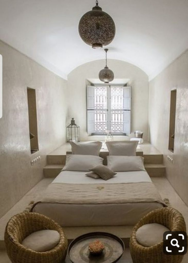 dormitorio principal wabi sabi