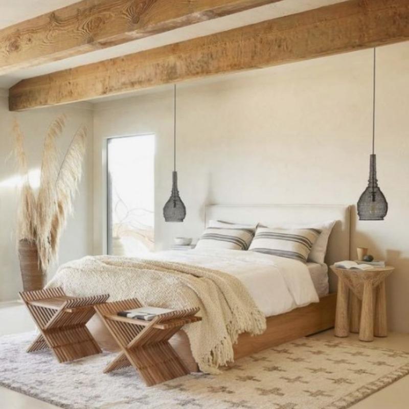 finca mallorca dormitorio
