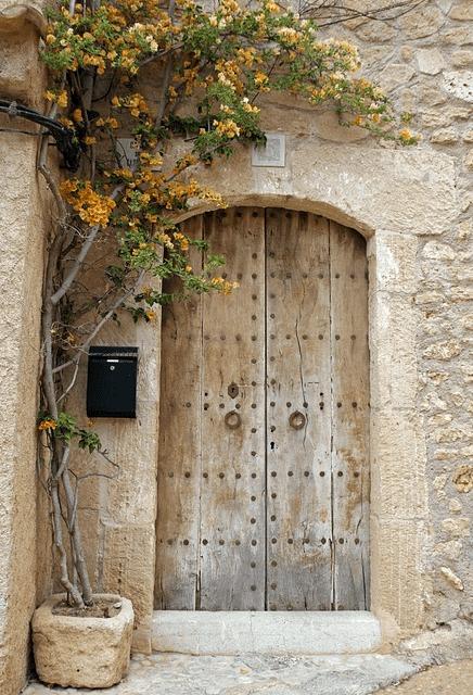 puerta diseño finca
